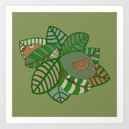 Camobirds Art Print