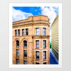Historic Equitable Building - Vintage Atlanta Architecture Art Print