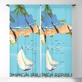 Dominican Republic Blackout Curtain