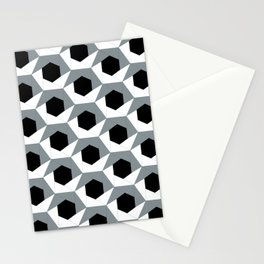 Hex shadow pattern  Stationery Cards
