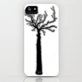 Black & White Tree's iPhone Case