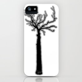 Black & White Tree's iPhone Case