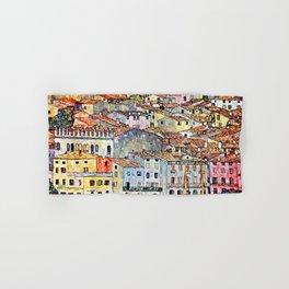 Gustav Klimt Malcesine on Lake Garda Hand & Bath Towel