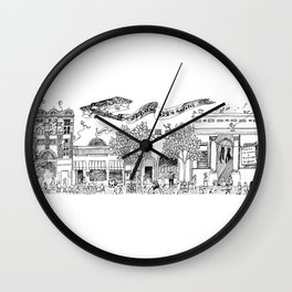 Downtown Wall Clock