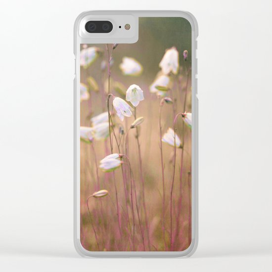 Wild flowers(8) Clear iPhone Case
