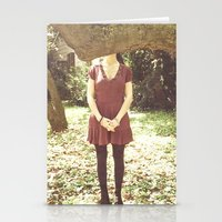 indie Stationery Cards featuring Indie Bands by Fla'Fla'