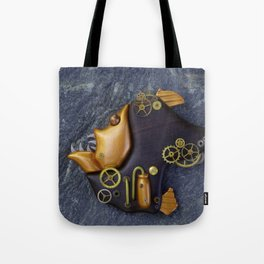 Steampunk Hatchetfish Tote Bag