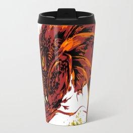 Into the abode of the Dragon Travel Mug