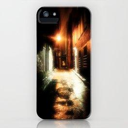 Midnight Alley iPhone Case