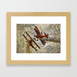 134  Breitling Wingwalkers Framed Art Print