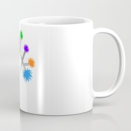 Joshua Tree Pom Poms by CREYES Coffee Mug