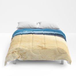 Walk on the riverside Comforters