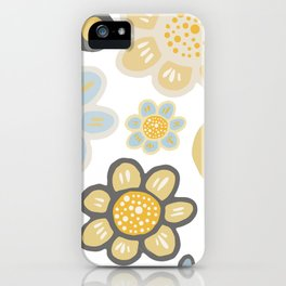 Big and Bold Modern Floral No. 4 iPhone Case