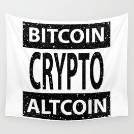 Bitcoin Altcoin Crypto Wall Tapestry