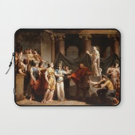 Jacques Sablet - The Temple of the Liberal Arts, with the City of Bern and Minerva Laptop Sleeve