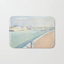 Georges Seurat - The Channel of Gravelines Bath Mat