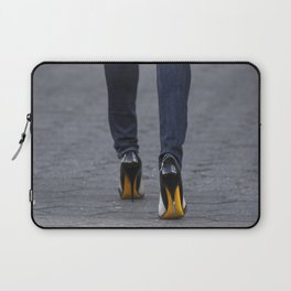 Excess Yellow Laptop Sleeve