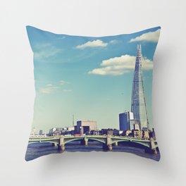 London... Throw Pillow