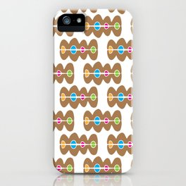 Ginger Bread Biccies iPhone Case