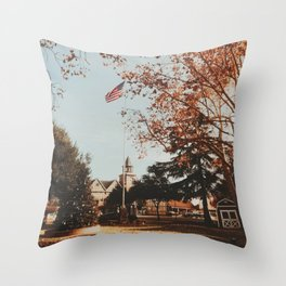 Charming city of Solvang, CA Throw Pillow