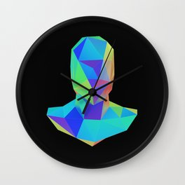 Bust Wall Clock