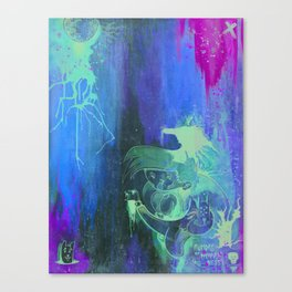 Rumors of Happy Ness Canvas Print