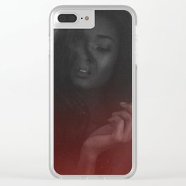 Red Rum Clear iPhone Case