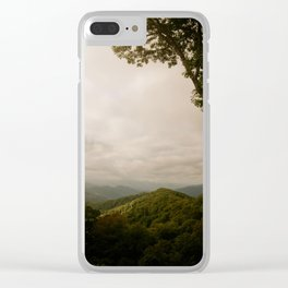 GREAT SMOKIES Clear iPhone Case