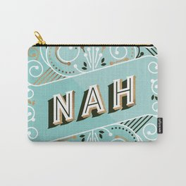 Nah – Mint & Rose Gold Palette Carry-All Pouch