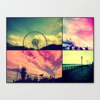 liverpool Canvas Prints featuring Liverpool by Tal Bright
