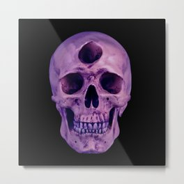 3rd Eye Contact (Purple) Metal Print