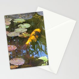 Koi Pond and Lilypads Stationery Cards
