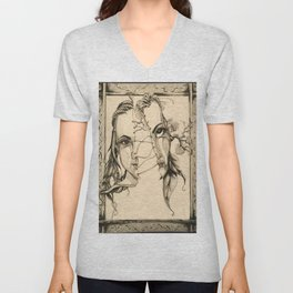 Bipolar by Kate Morgan Unisex V-Neck