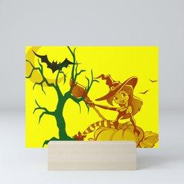 Sassy Little Witch Mini Art Print
