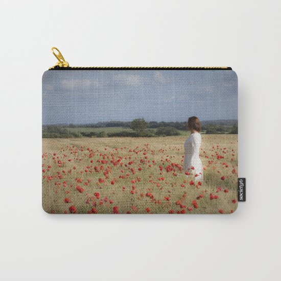 Waiting in the field Carry-All Pouch