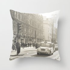 Loving London Throw Pillow