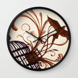 free fledgling Wall Clock