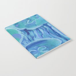 Striated Jelly Moons Notebook