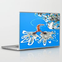 lungs Laptop & iPad Skins featuring Smoking Lungs by The Expression Studio