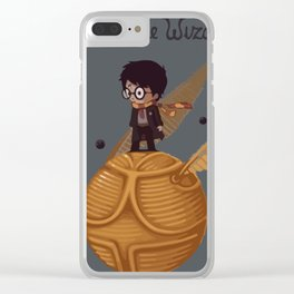 The little wizard Clear iPhone Case