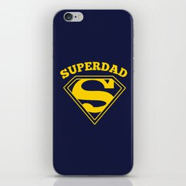 Superdad | Superhero Dad Gift iPhone Skin