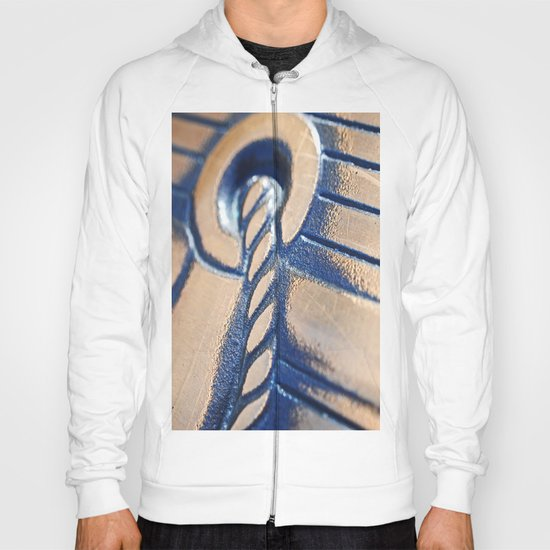 Abstract and Gold Hoody
