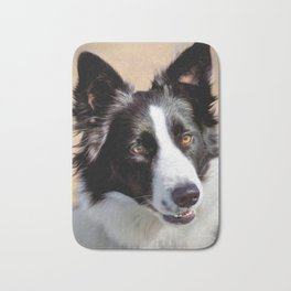 Border Collie Bath Mat