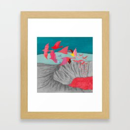 Wait for a Hundred Years Framed Art Print