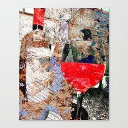wine art 5 Canvas Print