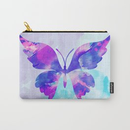 Abstract Butterfly Carry-All Pouch