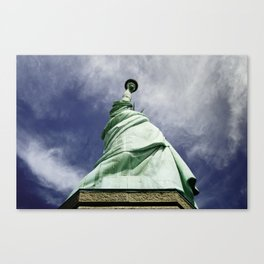 Statue of Liberty 4. Canvas Print