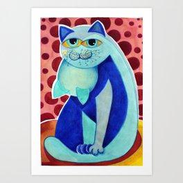 Garagato Art Print