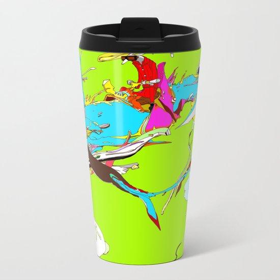因幡の白兎 - WHITE HARE OF INABA Metal Travel Mug