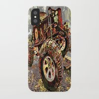 truck iPhone & iPod Cases featuring mud truck by Vector Art